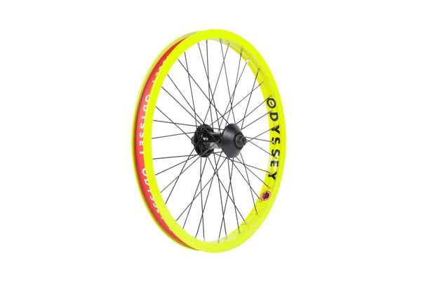 Odyssey Hazard Lite Front Wheel (Limited Edition Fluorescent Yellow)