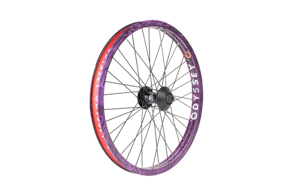 Odyssey Hazard Lite Front Wheel (Limited Edition Purple Rain)