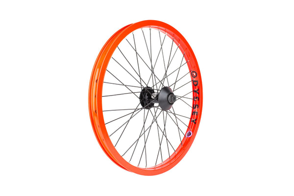 Odyssey Quadrant Front Wheel (Fire Engine Red)