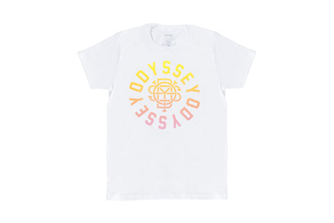 Central T-Shirt (White/Sunset Fade)