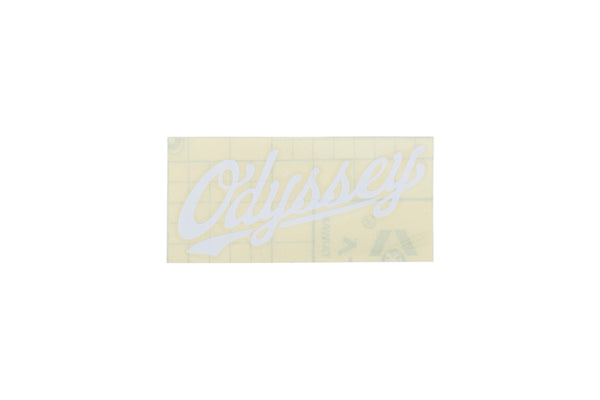 Slugger Die-Cut Sticker (White)