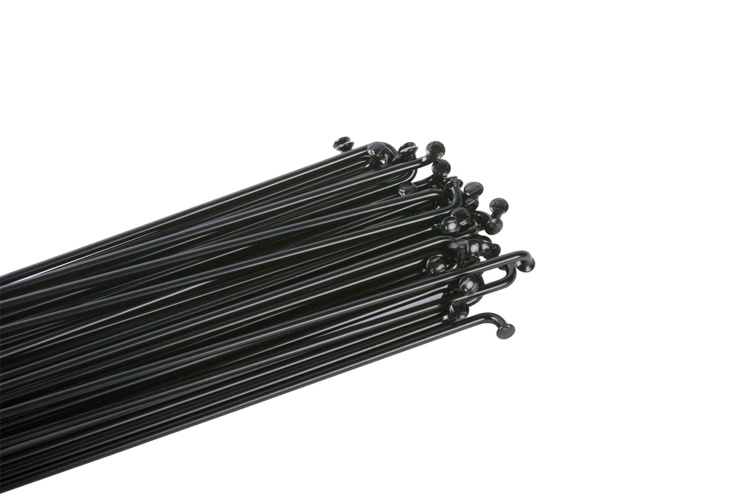 NEW Odyssey Stainless 14g Spokes 188mm Black Box of 40 Includes Spoke Nipples