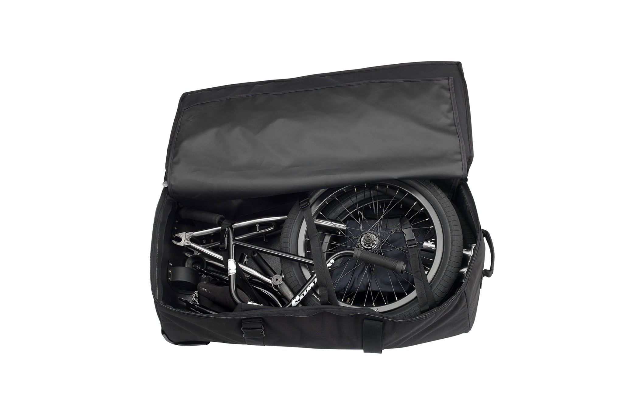 Waterproof Bicycle Handlebar Front Tube Bag Cycling Pouch Sling Pack LJ