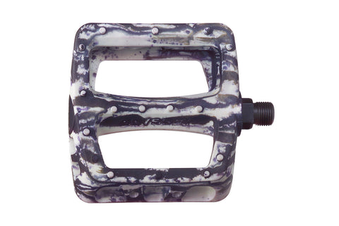 Twisted PC Pedals (Tie-Dye White/Black)