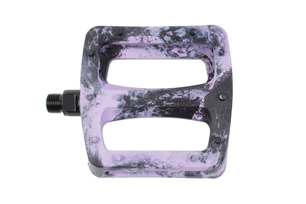 Twisted Pro PC Pedals (Black/Lavender Swirl)