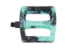 Twisted Pro PC Pedals (Black/Mint Swirl)