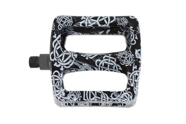 Twisted Pro PC Pedals (Monogram All-Over Black)