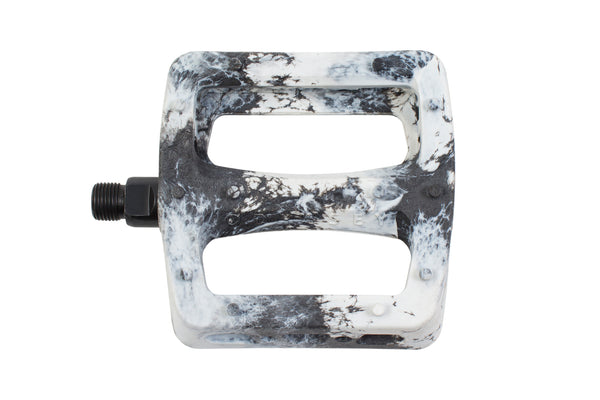 Twisted Pro PC Pedals (Black/White Swirl)