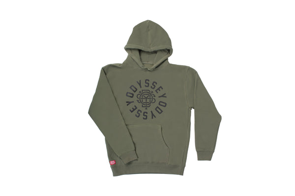 Central Pullover Hoodie (Olive)
