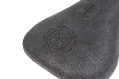 Monogram Waxed Canvas Seat (Black)