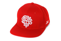 Monogram Hat (Red)