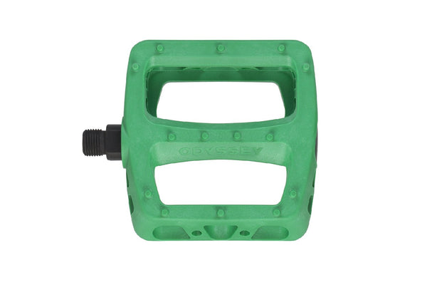Odyssey Twisted PC Pedals (Matte Kelly Green)