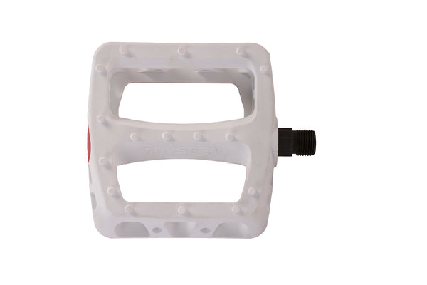 Twisted PC Pedals (White)