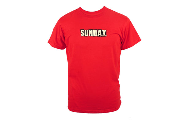 SUNDAY x BAKER Tee (Red)