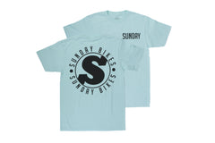 Badge Tee (Mint)