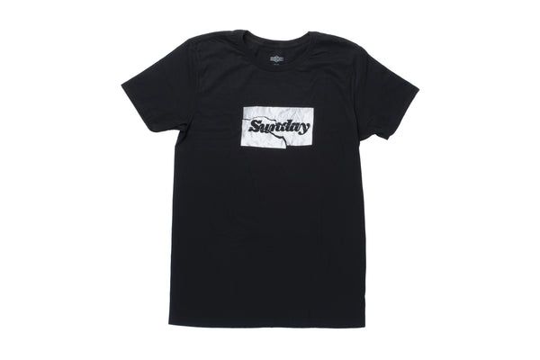 Sunday On A Tear Tee (Black)