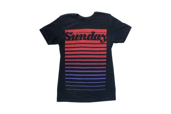 Classy Lines Tee (Black/Red)