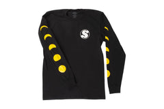 Phased Long Sleeve Shirt (Black)