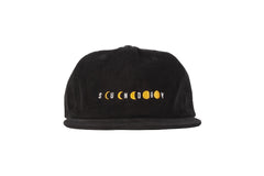 Phased Corduroy Hat (Black)