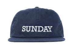 Sunday Rockwell Box Unstructured Hat (Navy)
