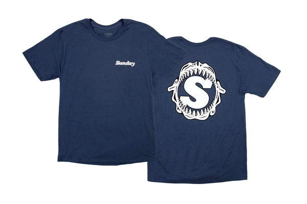 Sunday Bone Grill Tee (Navy)