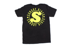 Sunday Badge Tee (Black)