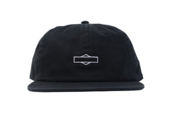 Sunday Rockwell Box Unstructured Hat (Black)
