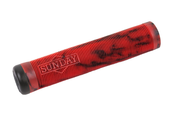 Sunday Cornerstone Grip (Black/Red Swirl)