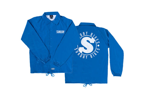 Badge Coach's Jacket (Royal Blue)