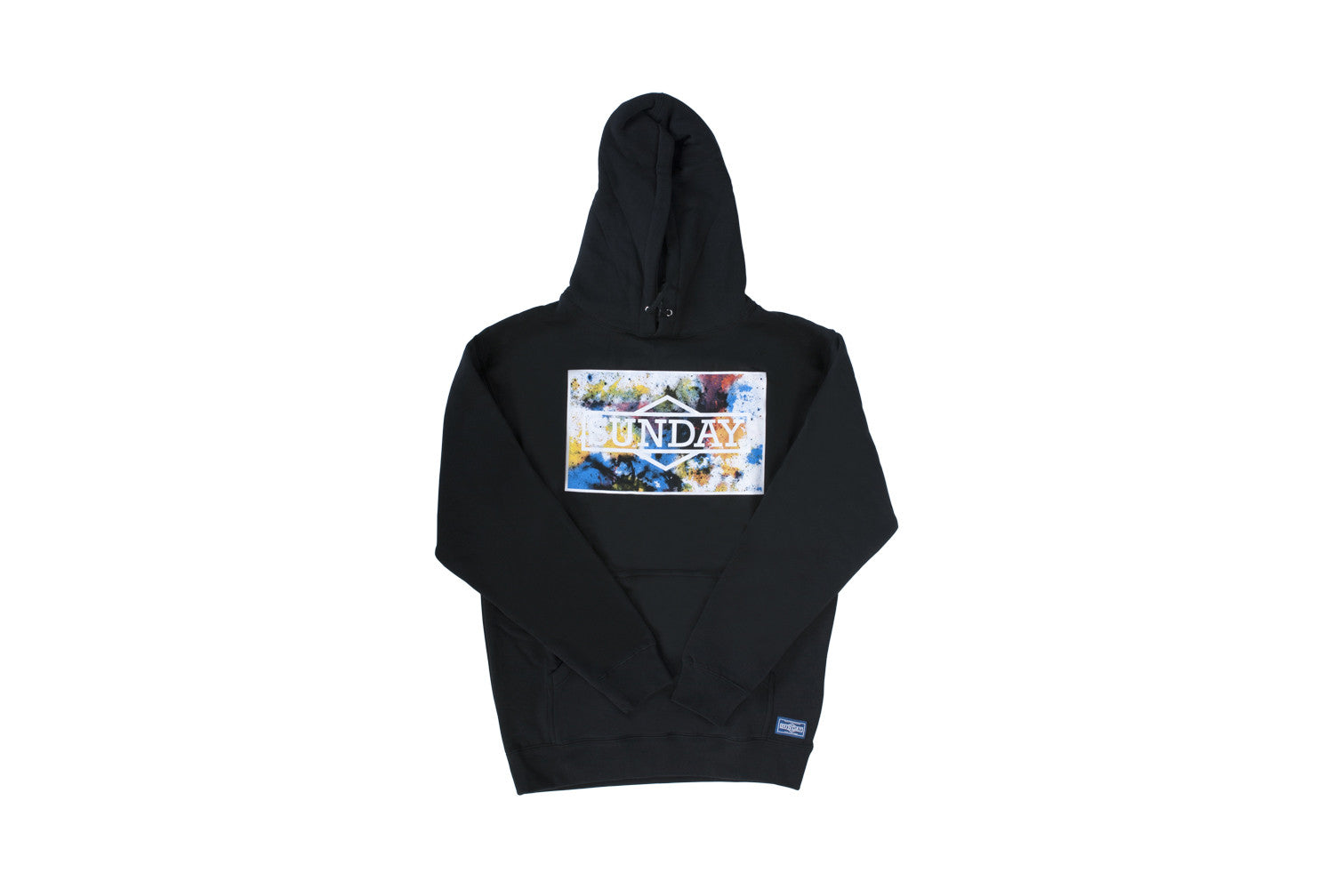 Cornerstone Watercolor Hoodie (Black)