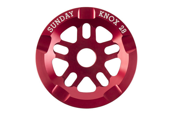 Knox Sprocket (Anodized Red)