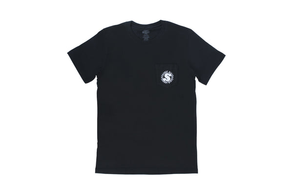 Badge Pocket T-Shirt (Black)
