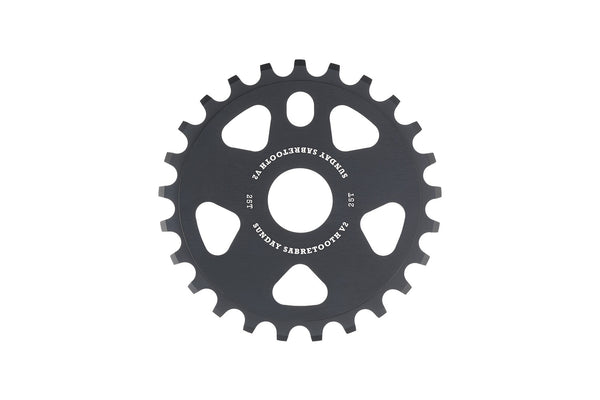 Sabretooth v2 Sprocket (Black)