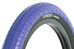 Street Sweeper Tire (Blue)