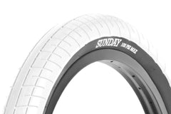Street Sweeper Tire (White)