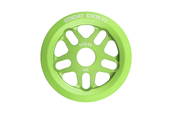 Sunday Knox v2 Sprocket (Electro Green)
