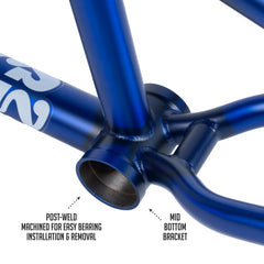 Street Sweeper Frame (Matte Translucent Blue)