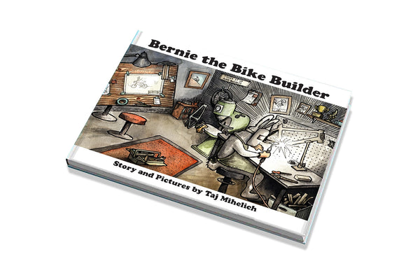 """Bernie the Bike Builder"" by Taj"