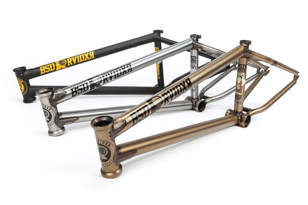 BSD Raider Frame (Flat Black or Flat Raw)