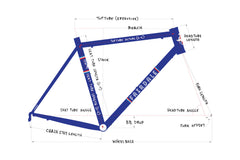 Goodship Frame and ENVE Fork Kit (Electric Blue)
