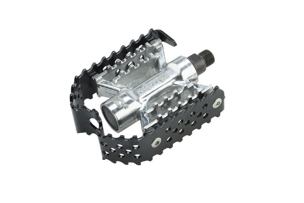 Triple Trap Pedals (Black or Silver)