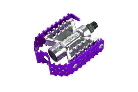 Triple Trap Pedals (Anodized Purple)