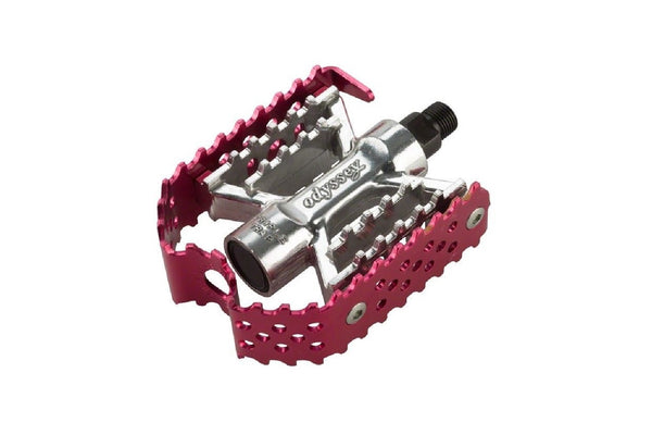 Triple Trap Pedals (Anodized Red)