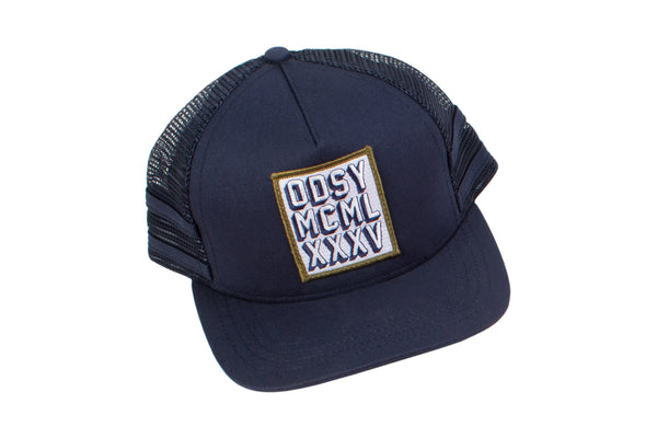 Forefront Snapback Trucker Hat (Navy)
