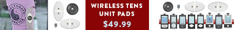 Use Coupon Code: WI9SALE for 50% OFF Wireless TENS Therapy Pads
