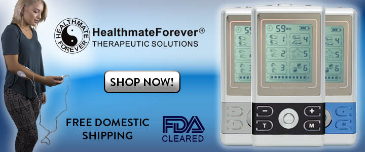 HealthmateForever FDA Cleared Free Domestic Shipping, blue, shop button
