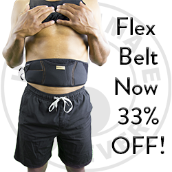 Right now you can save 33% off on our Flex Belt! Head over to Healthmateforever.com to grab this deal before it expires.