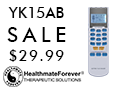 YK15AB TENS Therapy System for pain relief & muscle recovery is only $29.99! No Coupon Code Needed!