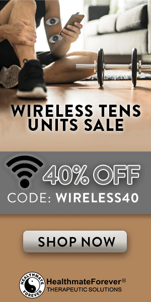40% Off Wireless TENS Units with coupon code: WIRELESS40