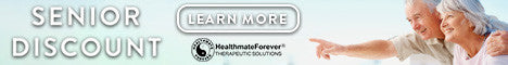 10% OFF HealthmateForever Products for Seniors aged 55+
